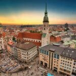 ミュンヘンの画像でドイツをイメージ
